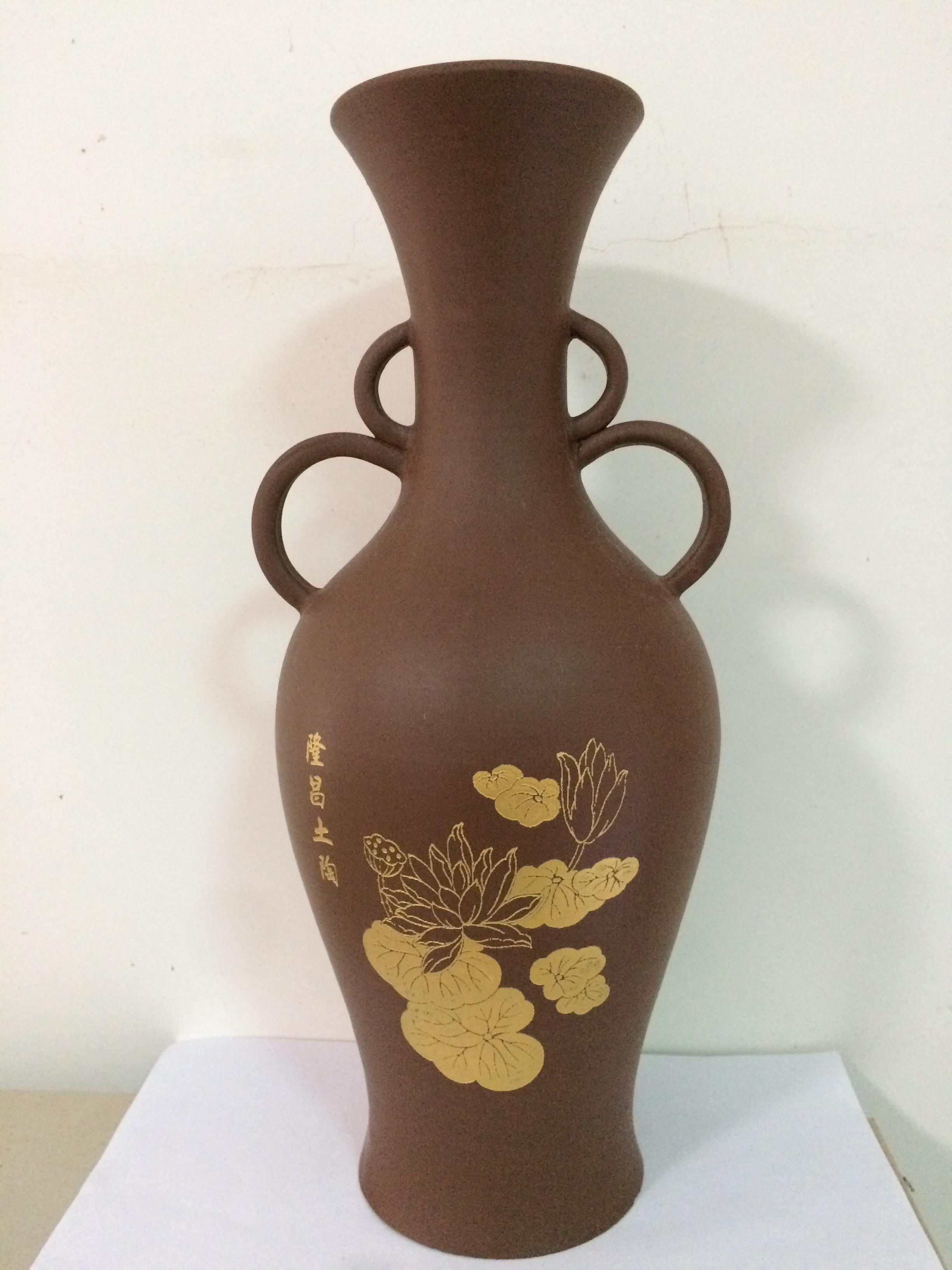 激光雕刻花瓶