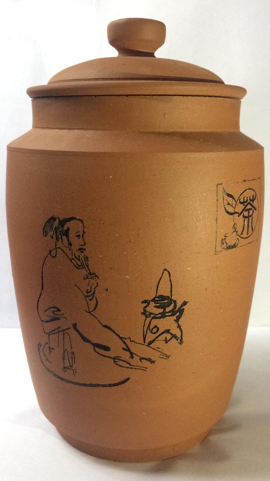 自贡陶茶坛